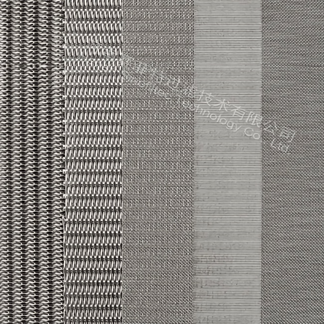 The construction plan of 5-layer sintered wire mesh