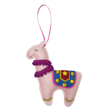 Cute llama hanging ornaments