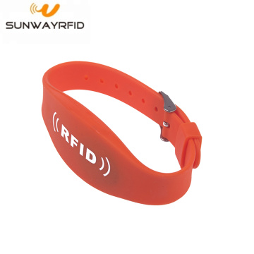 Dual Frequency Passive RFID Festival Bracelets Wristband