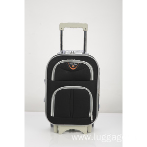 New Product for Two Wheels External Trolley Luggage Business travel trolley spinner luggage export to Russian Federation Supplier