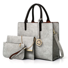 Newest fashion style 3pcs lady hand bags