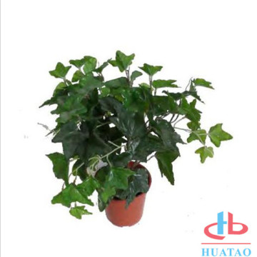 Artificial Potted Plants in Mini Modern Planter Pots