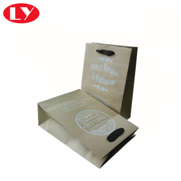 Custom Print Brown Kraft Paper Bag Wholesale