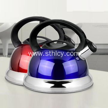 Large Capacity Stainless Steel Whistling Electric Kettle