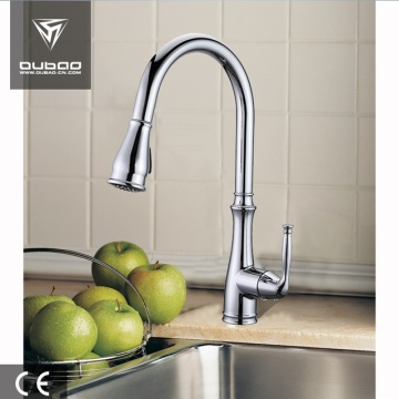 Classic Centerset Pull Down Sprayer Kitchen Faucet