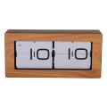 Giant Wooden Box Flip Clock