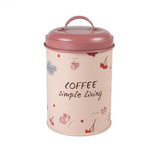 Customized kitchen canister vintage rose gold