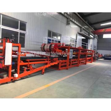 Hydraulic Aluminum Composite Sandwich Panel Machine