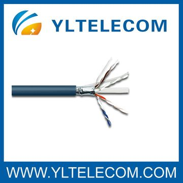 Cat.6A FTP Shielded Lan Cable AL foil Screened