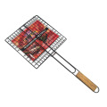 Non-stick BBQ grill crimped wire mesh