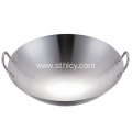 High Quality Stainless Steel Woks