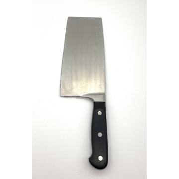 single piece 8 inch pom handle chopper knife