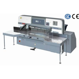 2200mm Digital display double worm wheel double guide paper cutting machine