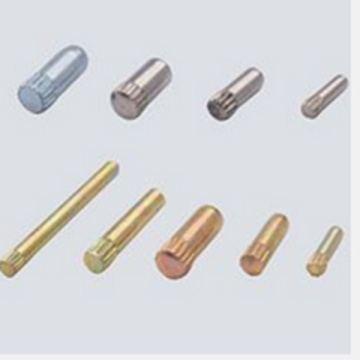 Double head rivet for machinery