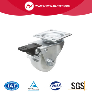 2 Inch 80Kg Plate Brake PO Machine Caster