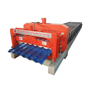 Glazed Tile Panel Sheet Roll Forming Machine