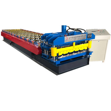 Color coated galvanized glazed roll forming machine