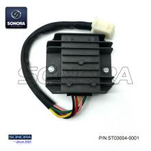 Supply for China Baotian Scooter Voltage Regulator Rectifier, Benzhou Scooter Voltage Regulator Rectifier Manufacturer GY6 5pin Rectifier Voltage Regulator export to Portugal Supplier