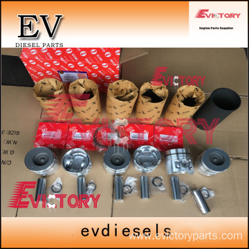 excavator FE6-T engine gasket bearing piston ring liner