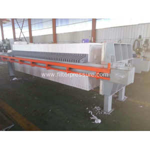 Automatic Pottery Clay Plate Frame Filter Press Industrial
