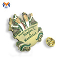 Design make metal and badge with 2D logo