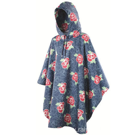 Soft Women Stylish Rain Poncho Patterns