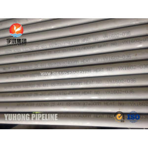 Personlized Products for Super Duplex Stainless Steel Heat Exchanger Tube Super Duplex Steel Seamless Tube ASTM A789 S32760 For Heat Exchanger supply to Algeria Exporter