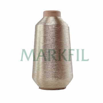 Cotton core Lurex Thread pure silver wholesale