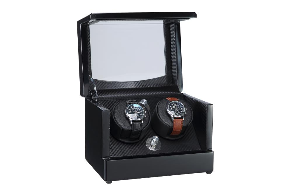 black finish watch winder