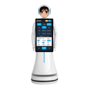Interactive Talking Robots for Hotel Welcome