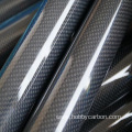 Intengo ephansi yeCarbon Glass Tube Carbon Fiber tube