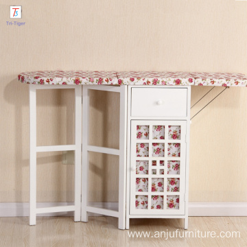 Folding Wooden cabinet Ironing Table