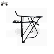 heavy duty alloy electric bicycle rear rack