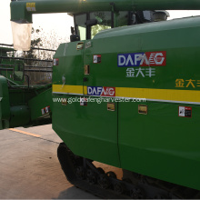 Factory best selling for Crawler Type Rice Combine Harvester rice paddy combine harvester supply to Argentina Factories