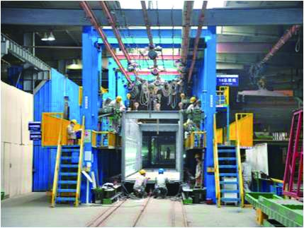 production line-2 for Prefab Workshop Container Type
