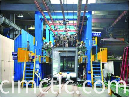 production line-2 for Low Noise Container Integrated Type