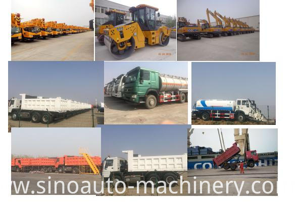 Our trucks and machinery for export