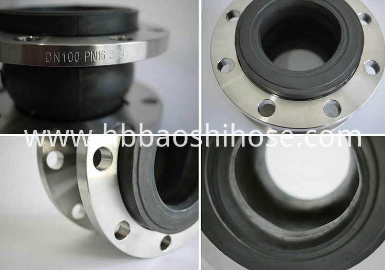 Threaded Flexible Rubber Coupling