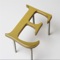 Outdoor Advertising Brass Letter Signage