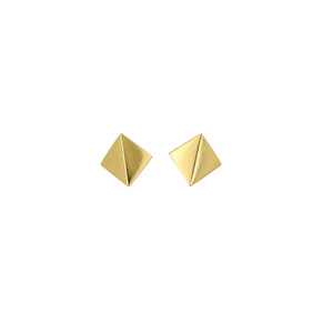 Minimalist Square Shaped Stud Earring