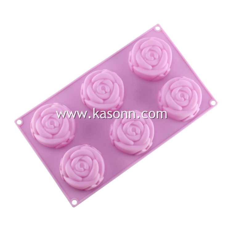 Mini Rose Silicone Molds