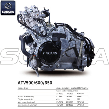 Yinxiang Engine ATV650 BODY KIT ENGINE PARTS COMPLETE SPARE PARTS ORIGINAL SPARE PARTS