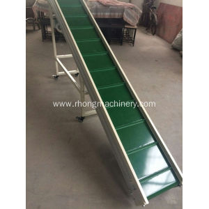 conveyor belt used for plastic granulator