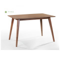 Beveled Table Nangungunang Solid Wood na Talahanayan