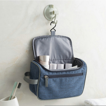 Bespoke Hanging Travel Toiletry Cosmetic Bag with Hook