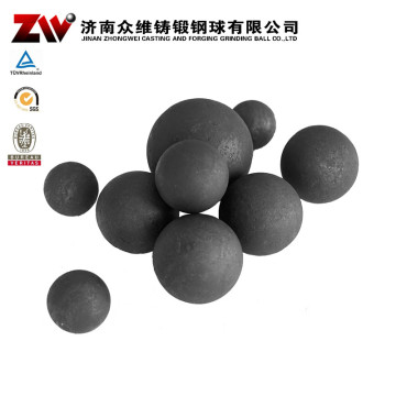 Forged Ball Mill Grinding Media For Cement 60mm