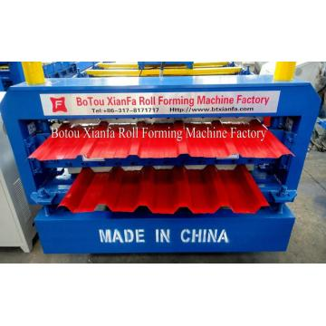 Serbia Style Metal Roof Sheet Roll Forming Machine