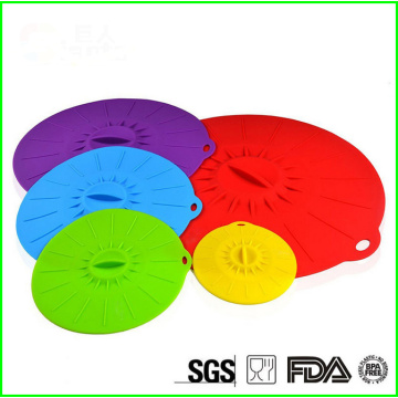 Flexible Keep Fresh Eco Silicoen Suction Lid