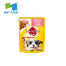 Standing Up Pet Food Packaging Dog Food Bag