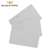 Factory making for RFID White Card D21 EV2 RFID Access Control PVC Chip Card export to Cook Islands Manufacturers